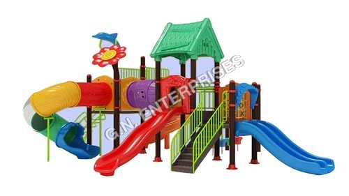 Kids Plastic Play Equipment Exotic Series
