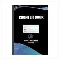 Hard Cover Counter Book