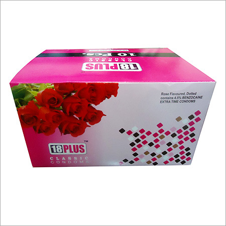Rose Flavored Dotted Condoms