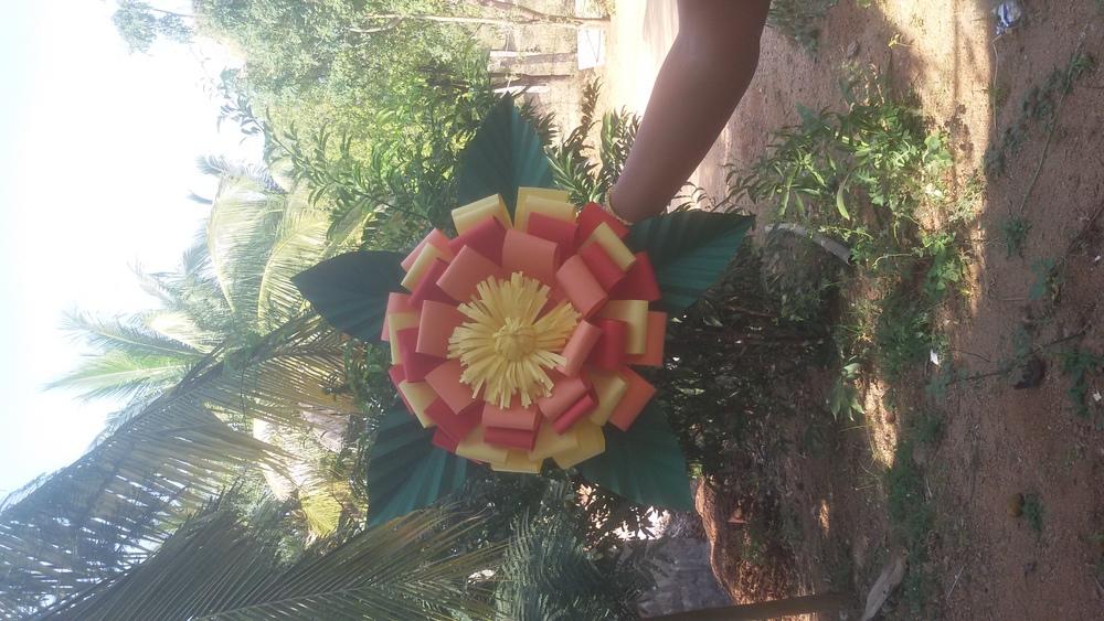 Tactile Paper Flower