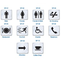 Stainless Steel Sign Plates
