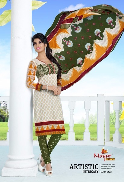 Mayur Cotton Dress Material