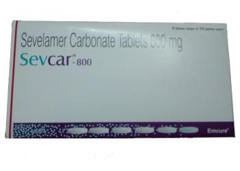 Sevcar 800 mg Tab