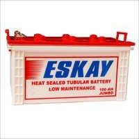 Heat Sealed Tubular Battery 100 AH Jumbo