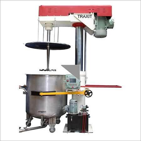 Industrial Continuous Disperser