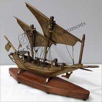 Brass Sail Boat