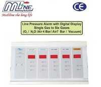 Digital Line Pressure Alarm -Single Gas to 6 Gases