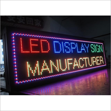 Outdoor LED Moving Display Sign