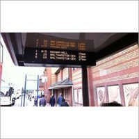 Transport Management LED Display