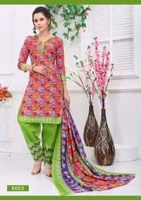 Fancy Printed Dress