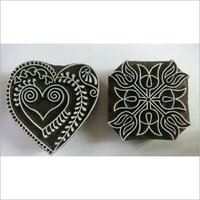 Wooden Printing Blocks MIX SET 3