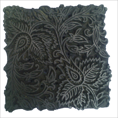Wooden Textiles Vintage Printing Block