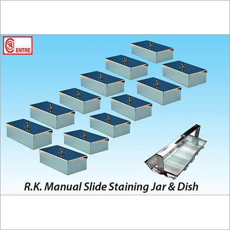 Slide Staining Jar & Dish