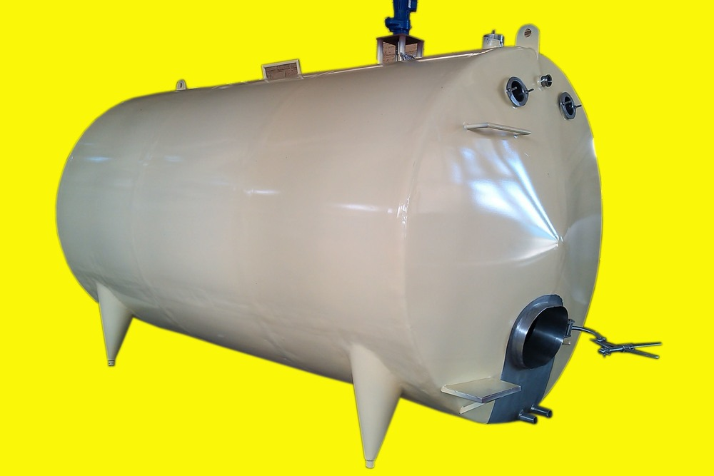 MS Horizontal Milk Storage Tank