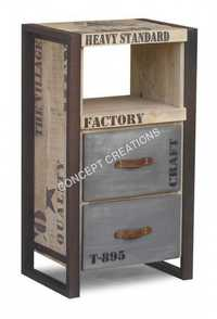 Iron Wooden Cabinet