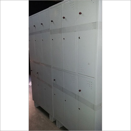 Industrial 6 Lockers Cupboards