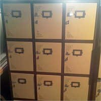 9 locker storage cupboard