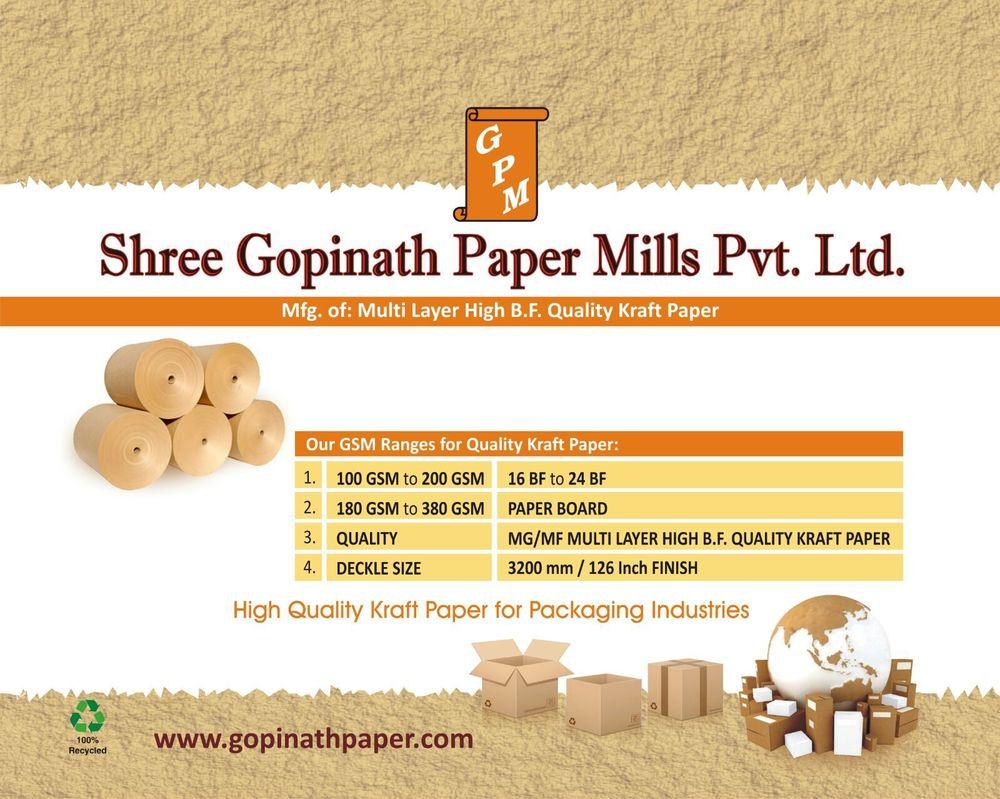 High Quality Kraft Paper