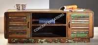Reclaimed Wooden TV Cabinet