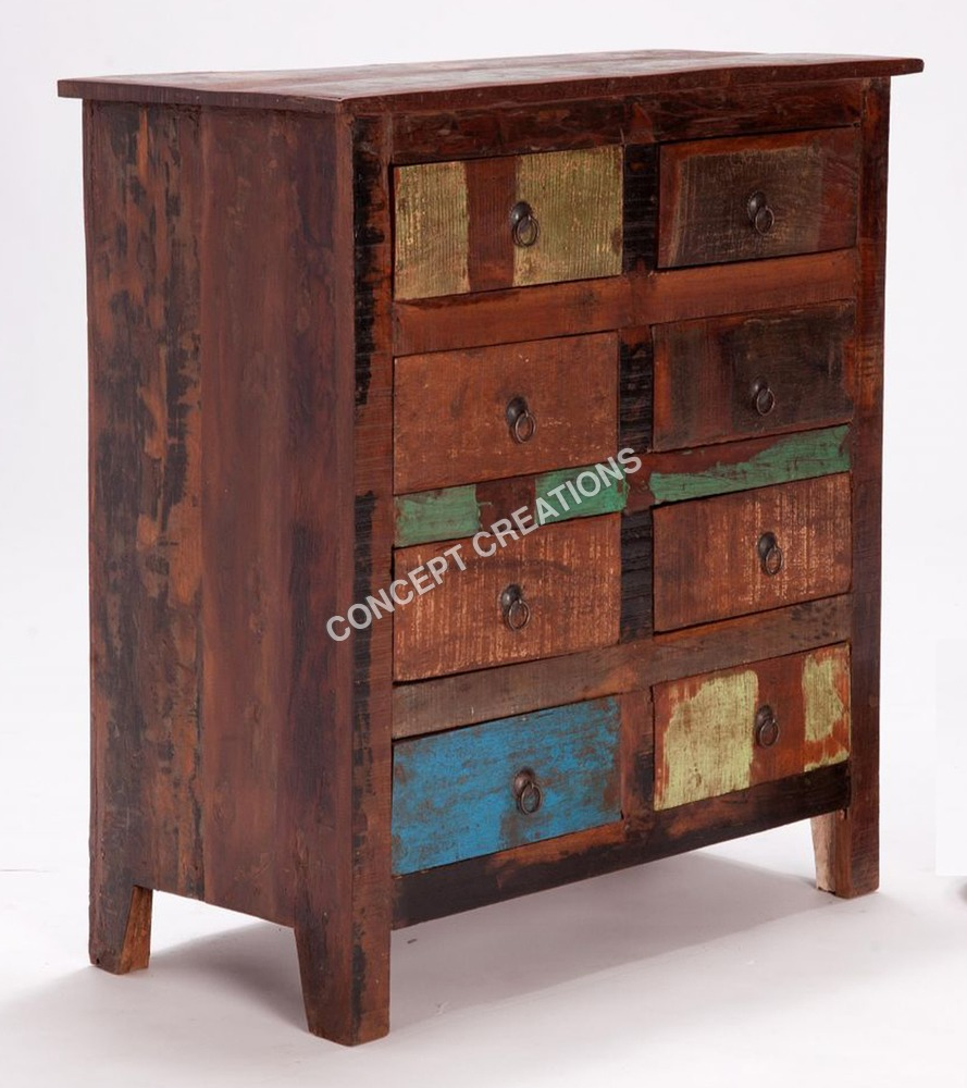Reclaimed Wooden Drawerchest