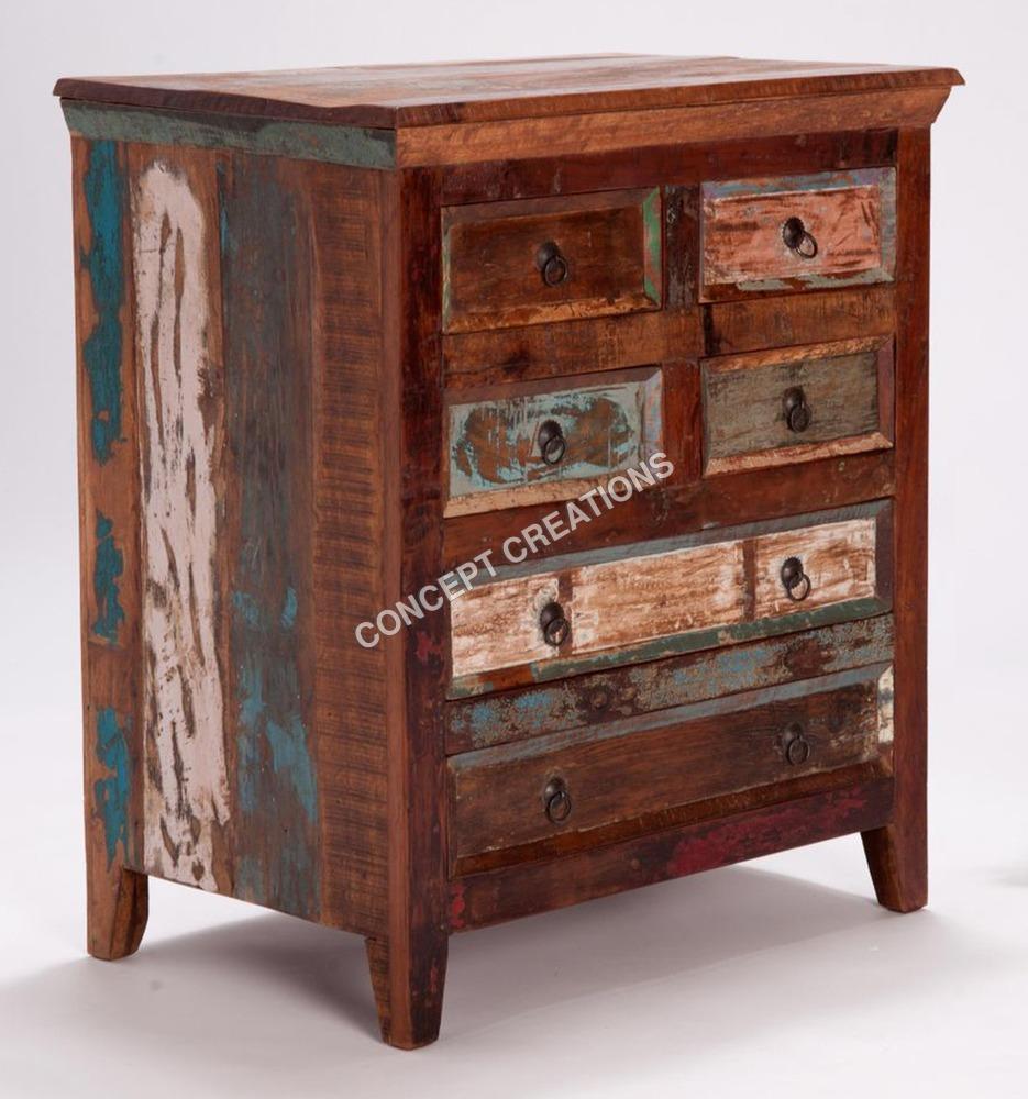 Reclaimed Wooden Drawerchest