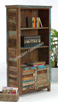 Reclaimed Wooden Bookrack