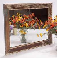 Reclaimed Wooden Mirror Frame