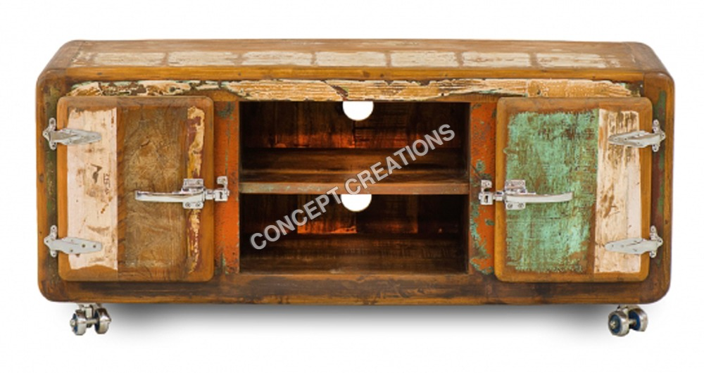 Reclaimed Wooden TV