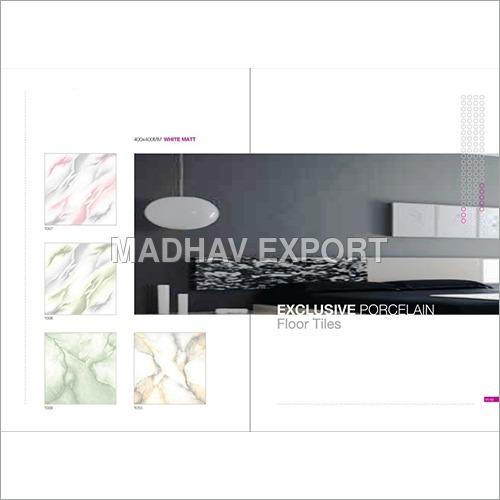 396*396 MM Ivory Glazed Floor Tiles