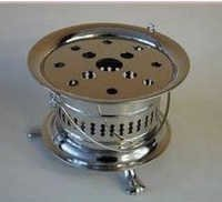 Chrome Plated Tea Warmer