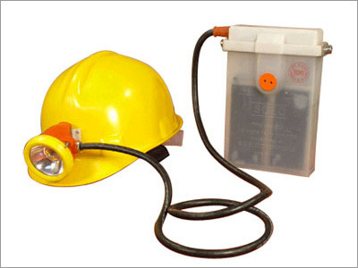 Headlamp with Rechargeable Battery - Miners Lamp
