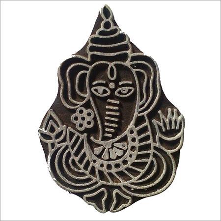 Lord Ganesha Printing Block