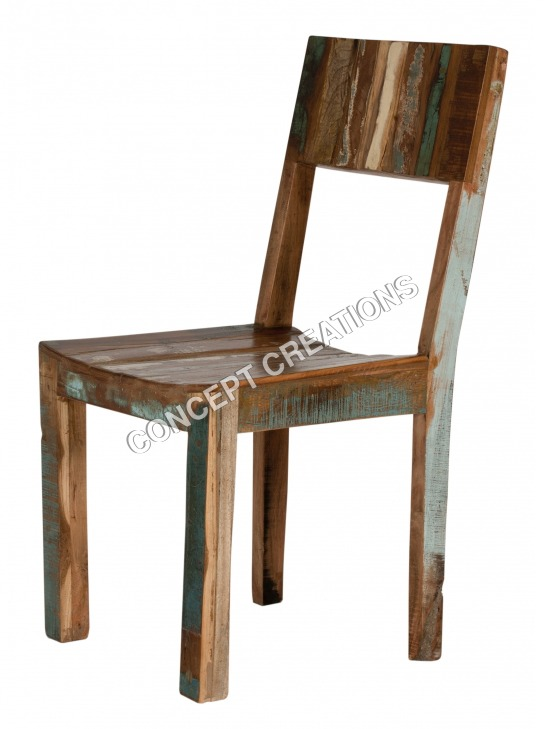 Reclaimed Wooden Chair