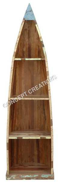 Reclaimed Wooden Bookrack
