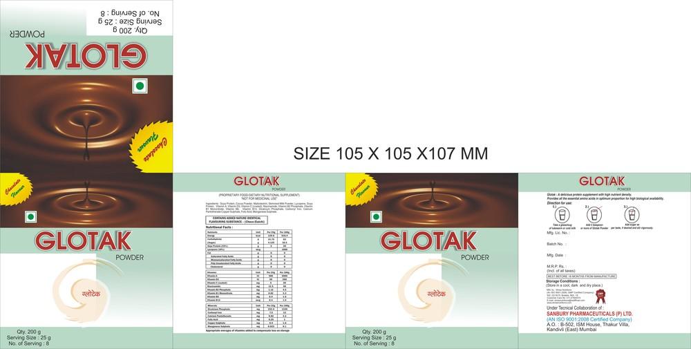 GLOTAK Protein Powder