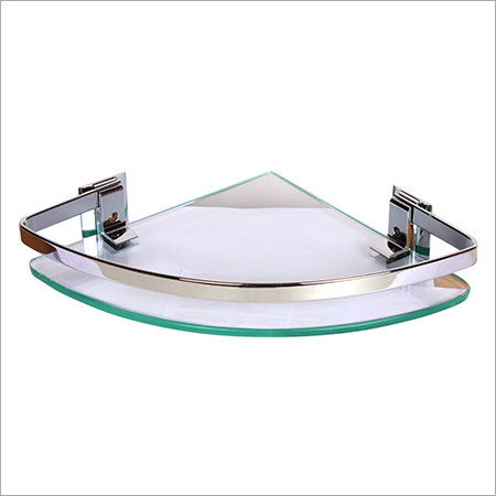 Bathroom Glass Corner Shelf