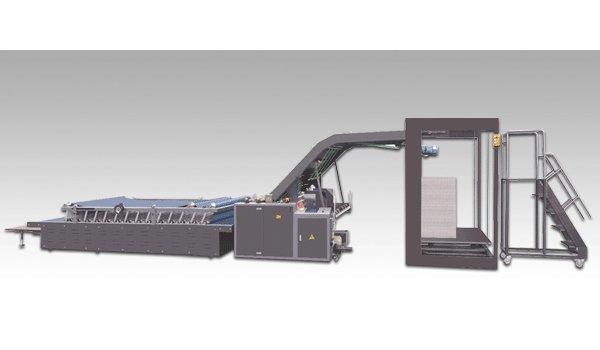 Semi Automatic Flute Laminating Machine
