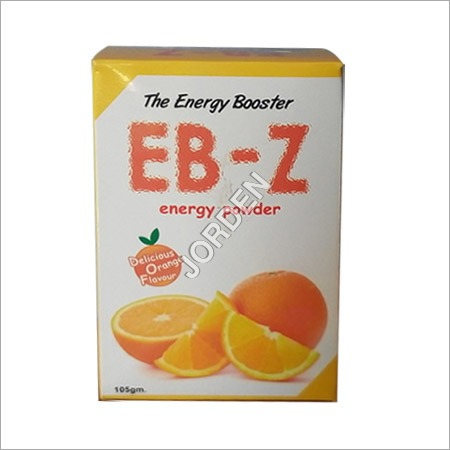 Orange Flavour Energy Powder