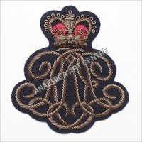 Ralph Lauren antique gold bullion wire badge