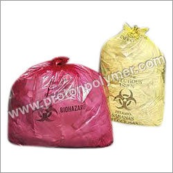 Plastic Bio Medical Waste Bags