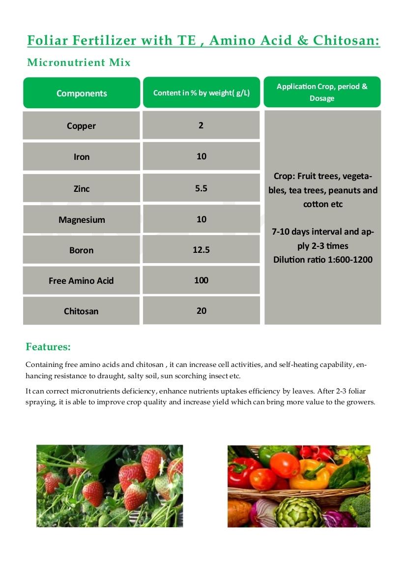 Foliar Fertilizer
