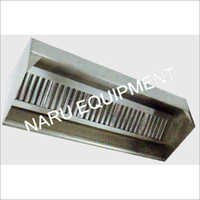 SS Kitchen Exhaust Hoods with Baffle Filters (Wall Hinged)