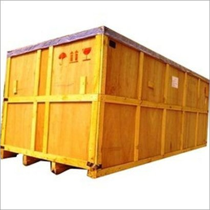 Yellow Seaworthy Packaging Boxes