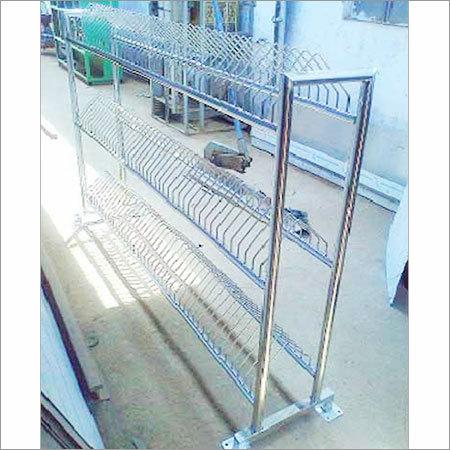 Steel Plate Rack