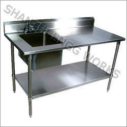 SS Work Sink Table
