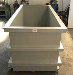 Industrial Plating Tanks