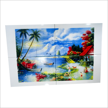 Scenery Picture Printed Tiles
