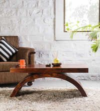 Wooden Center Coffee Table