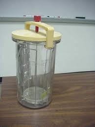 Anaerobic Culture Jar (McIntosh and Felds Pattern)