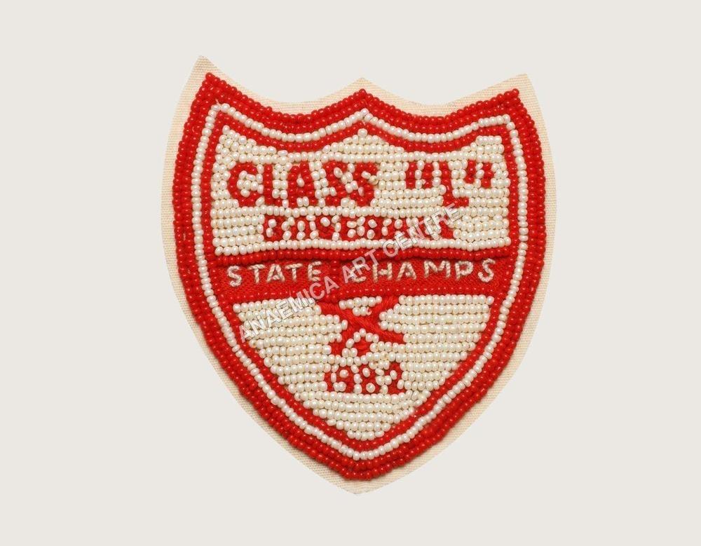 Class L baseball champ beaded patch